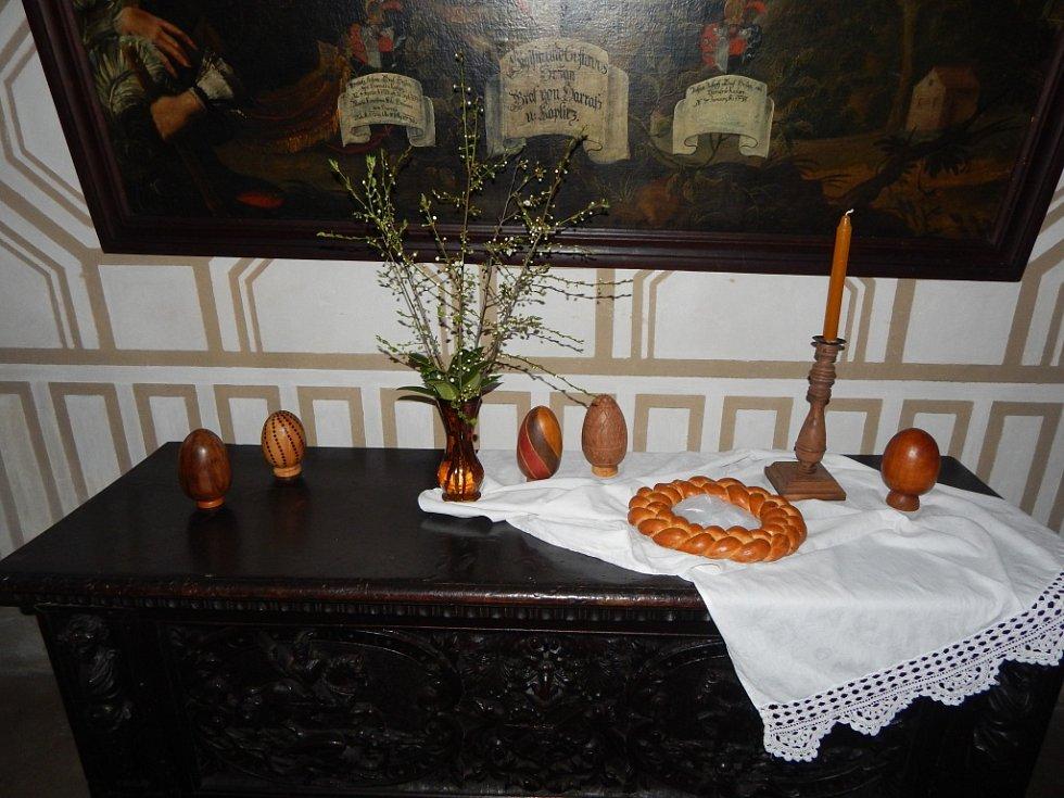 Velikonoce na zámku Hrádek u Nechanic.
