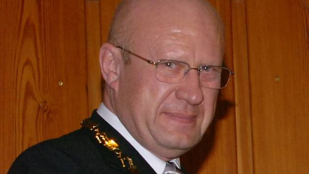 Primátor Hradce Králové Otakar Divíšek