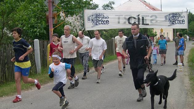 Běh T. Foxe Nechanice 2007