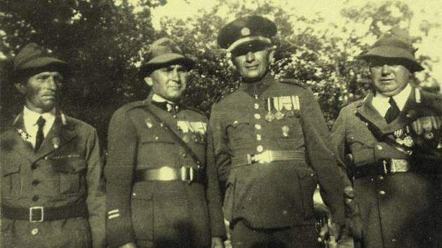 Legionáři z Královéhradecka.
