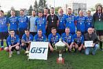 Fotbalový Gist pohár OFS Hradec: Malšova Lhota (vítězové finále).