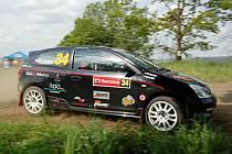Posádka Alert Rally Teamu Pohner – Husák