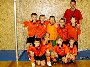 Halový fotbalový turnaj mladších přípravek ve Vysoké nad Labem - TJ Sokol Býšť.