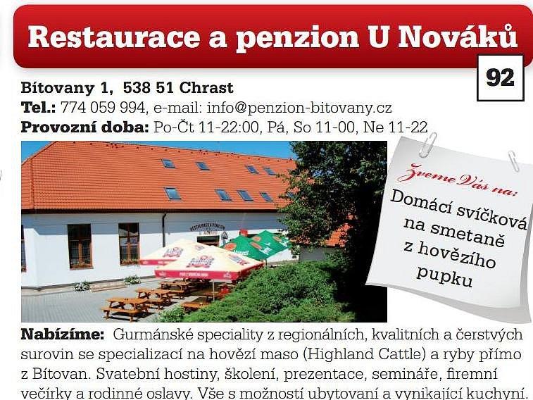 Restaurace a penzion U Nováků