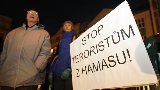 Manifestace Sionu na podporu Izraele 19. ledna 2009