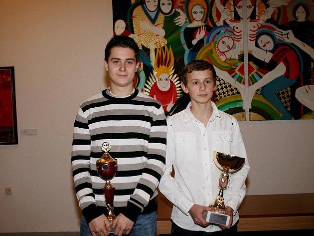 Slavnostní vyhlášení nejlepších mládežnických stolních tenistů Královéhradeckého kraje.