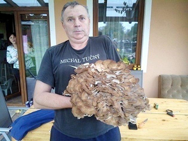 Miroslav Etrych, nálezce vzácné houby zNechanicka.