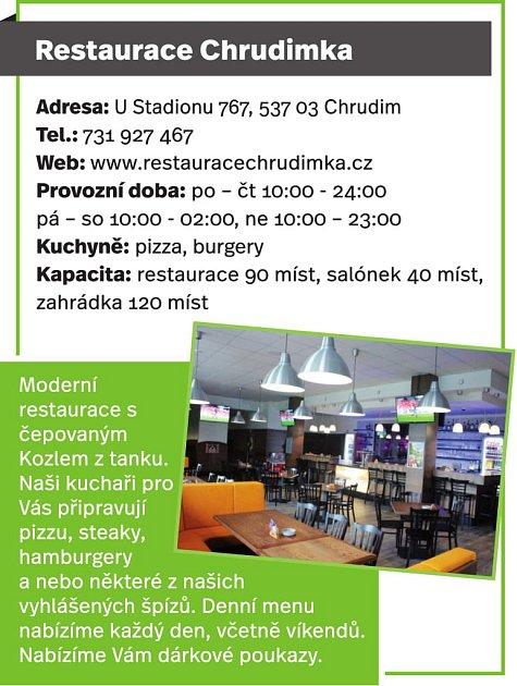 Restaurace Chrudimka, Chrudim