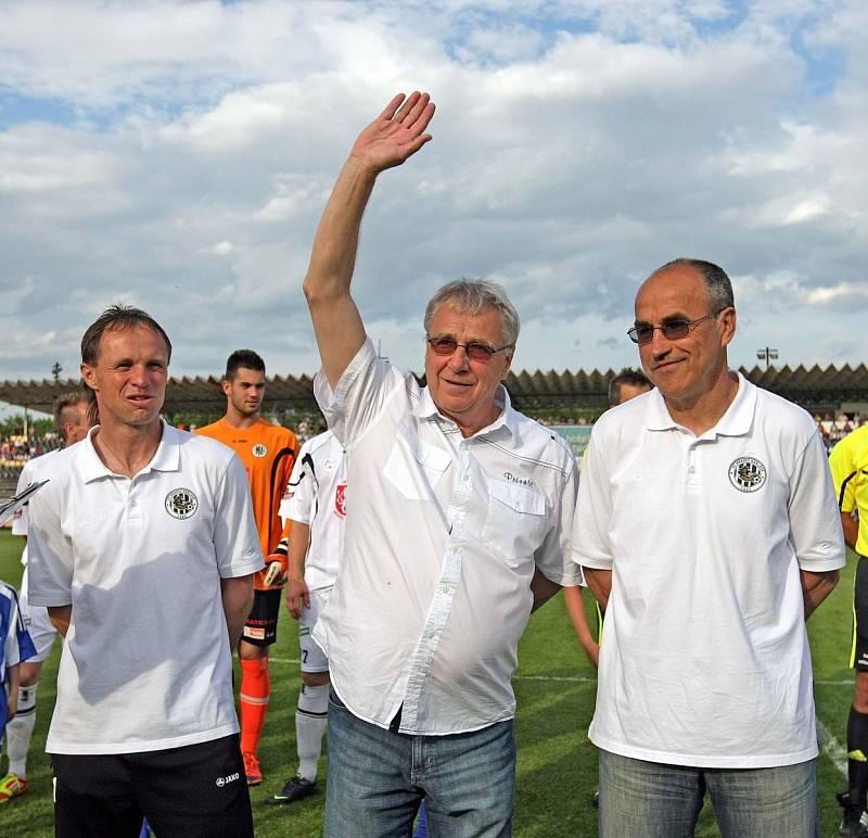 Trenéři Michal Šmarda, Petr Uličný a Václav Kotal