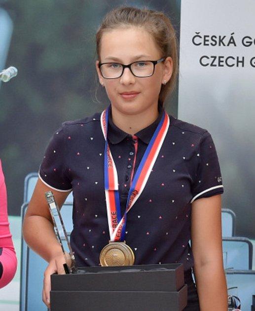 Justýna Šafaříková.