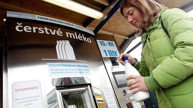 Hradecký mléčný automat