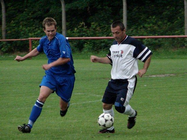 Zápasy 24. kola pokračovala o víkendu jarní část okresního fotbalového přeboru.