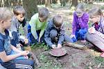 Outdoroová zážitková hra s názvem 5. element pro děti z hradecké MŠ Holubova.