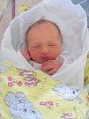 ROBIN VONDRA přišel na svět 6. března v 8.28 hodin. Po porodu vážil 3310 g. Udělal šťastné rodiče Ludmilu a Radka Vondrovy z Hradce Králové.