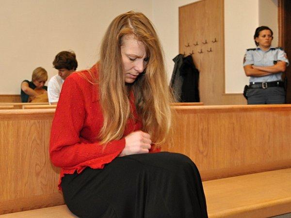 Romana Zienertová před odvolacím senátem Vrchního soudu vPraze.