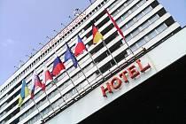 Hotel Černigov v Hradci Králové.