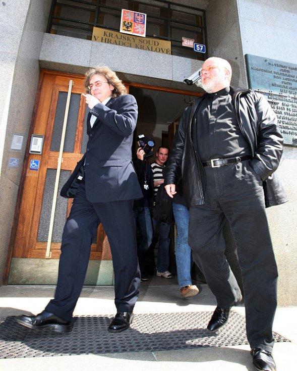 Po verdiktu. Kulínský byl odsouzen na tři roky s pětiletou zkušební dobou
