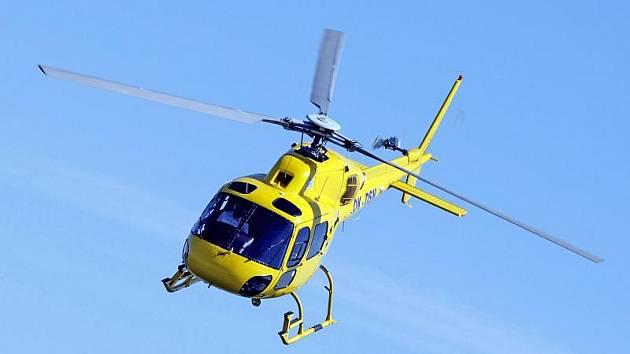 Z vrtulníkové přehlídky Helicopter show. Ilustrační fotografie.