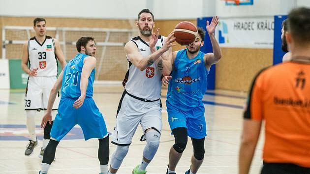 Český pohár basketbalistů - 1. osmifinále: Královští sokoli Hradec Králové - BK Olomoucko.