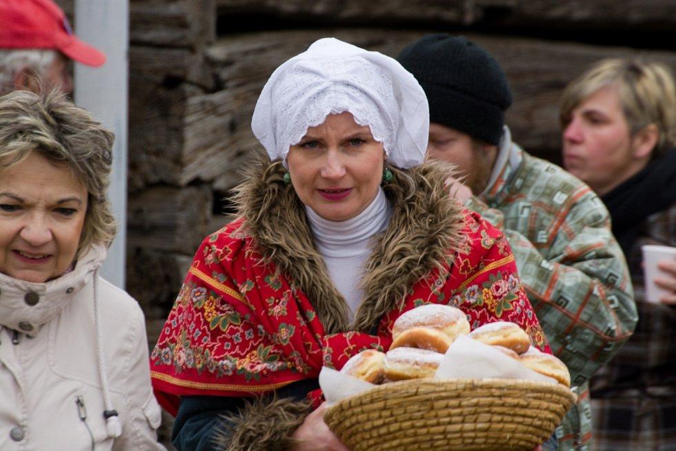 Masopust na Šrámkově statku 2018