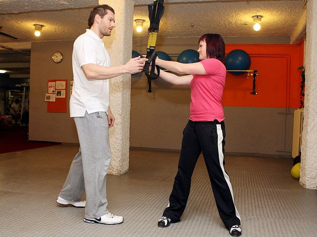 Fitness klub. Ilustrační obrázek.