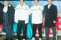 Z přátelského fotbalového utkání Česká republika - Norsko v Synot Tip Aréně v pražském Edenu.