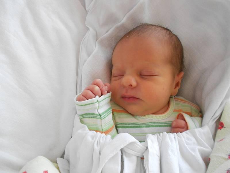 LENIČKA MORÁVKOVÁ přišla na svět 1. října v 10.17 hodin. Měřila 47 cm a vážila 2650 g. Velmi potěšila své rodiče Lenku a Karla Morávkovy z Bartošovic v Orlických Horách. Tatínek byl pro maminku u porodu skvělou oporou.