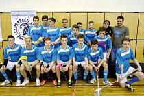 Dorostenecký tým Hradečtí lvi florbalového klubu FBC Sion