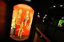 Den otevřených dveří v Labyrintu divadla Drak, úterý 1. června 2010.