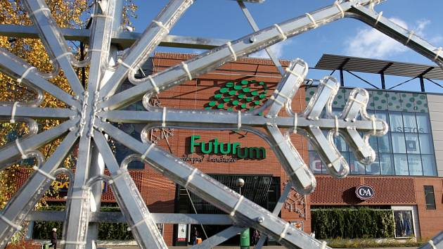Obchodní centrum Futurum v Hradci Králové.