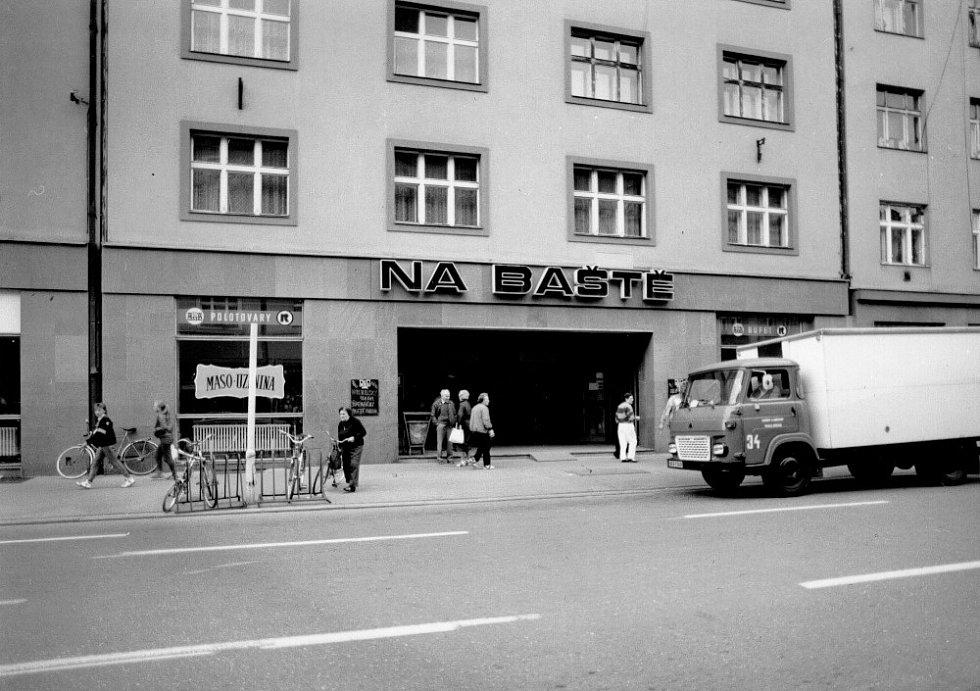 Automat na Baště.