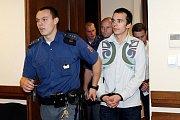 Ze soudní síně, kde stanuli Oldřich Andrlík a Milan Kuře kvůli pašování kokainu.