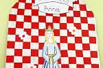Připomínka Karla IV. v Základní škole Všestary.
