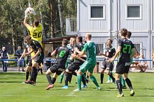 Česká fotbalová liga: Bohemians Praha B - FC Hradec Králové B.