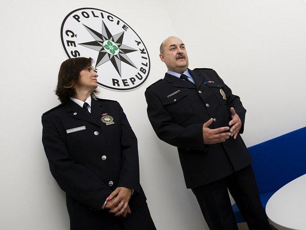 Obvodní oddělení Policie České republiky ve Smiřicích.