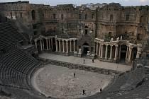 Z cest Daniela Potměšila v Turecku: amfiteátr v Bosře.