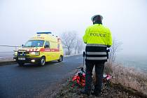 Námraza způsobila tři nehody na čtyřkilometrům úseku