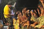 Koncert skupiny Harley ve Výravě v pátek 21. srpna 2009.
