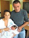 VANESA KOMÁRKOVÁ poprvé otevřela oči 6. září v 8.41 hodin. Měřila 48 centimetrů a vážila 3160 gramů. Doma se z ní radují maminka Tereza Komárková a tatínek Robin Šejna z Dolní Rovně.