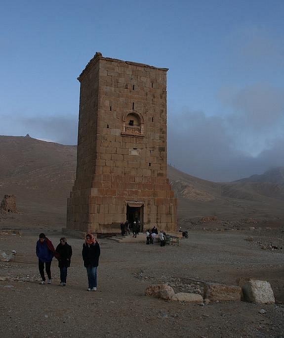 Z cest Daniela Potměšila v Turecku: hrobka v poutním městě Palmýra.