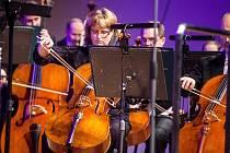Koncert v rámci festivalu Hudební fórum Hradec Králové v sále filharmonie.