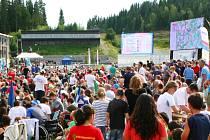 Aréna mistrovství světa v orientačním běhu.