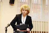 Lenka Balogová, účetní firmy Skaličan, před královéhradeckým krajským soudem.