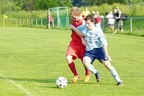 Krajská fotbalová I. A třída: TJ Start ZD Ohnišov - FK Chlumec nad Cidlinou.