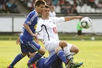 I. fotbalová Gambrinus liga: FC Hradec Králové - SK Sigma Olomouc.