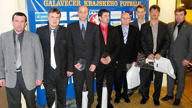 Galavečer krajského fotbalu na Královéhradecku.