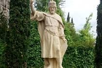 Sochy svatého Václava a Anežky Přemyslovny míří do Itálie.