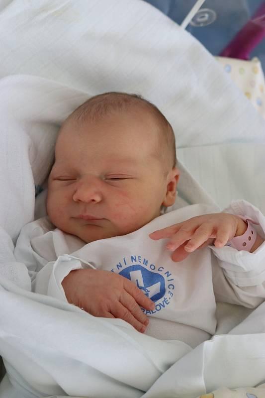 VIKTORIE DUFKOVÁ se narodila 28. července v 15.20 hodin. Měřila 48 cm a vážila 3120 g. Velkou radost udělala svým rodičům Lucii a Lukáši Dufkovým z Horního Přímu. Doma se těší tříletá sestřička Vaneska.