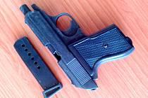 Plynová pistole.