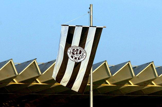 Vlajka klubu FC Hradec Králové